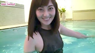 Asian Swimsuit, Black Swimsuit for Comfort and Flexibility in The W...