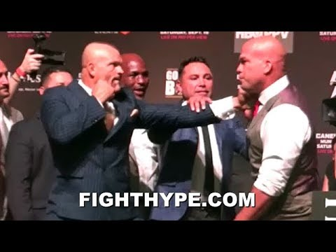 TITO ORTIZ BOBS & WEAVES ON CHUCK LIDDELLS FIST; BOTH EAGER TO RESUME RIVALRY