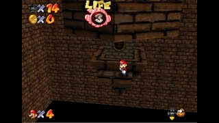 Brutal Mario 64 - Desolate Chocolate Factory - Hidden Star Heads Down