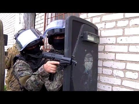 Подготовка СОБР ГУНК МВД России(Часть - II)