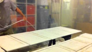 Airless Spray To Paint Kitchen Cabinet Doors White