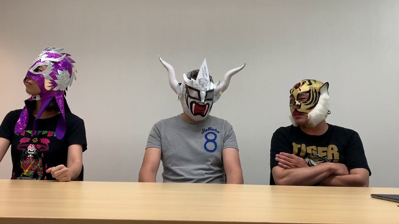 📹上司タイガーWORLD_002・タイガーVSドラゴン会見発表