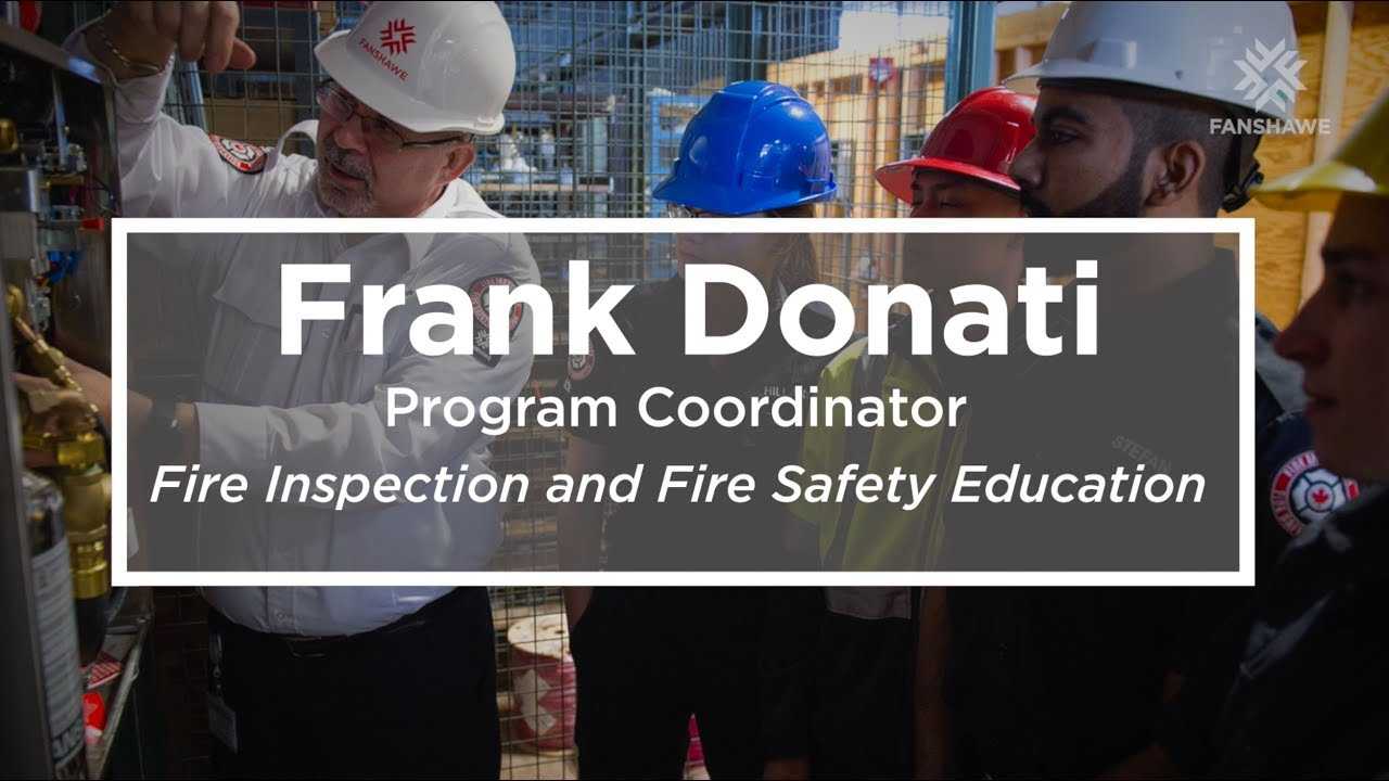 Fire Inspection and Fire Safety Education | Fanshawe College