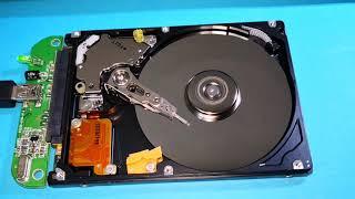 Harddisk Çalışırken İçinde Neler Oluyor - HDD İnceledik - Whats Happening Inside the Hard Drive