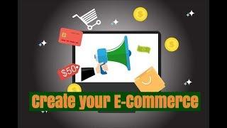 hoe maak je je E-commerce Webseite gebruik van Prestashop voor beginners
