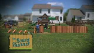 Built A Picket Fence Faster!
