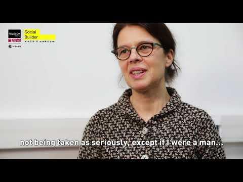 [#TélécomiennesInTech] Valérie Beaudouin, professor at Télécom Paris (Eng subtitles)