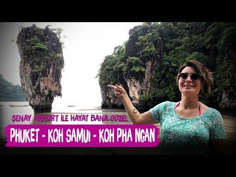 Tayland Adalar Turu ve full moon party  - Şenay Akkurt ile Hayat Bana Güzel