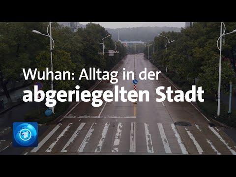 Corona-Virus in China: Alltag in der abgeriegelten Stadt Wuhan
