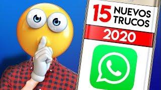15 TRUCOS de WhatsApp NUEVOS & SECRETOS que ¡¡DEBES PROBAR YA!! 2020
