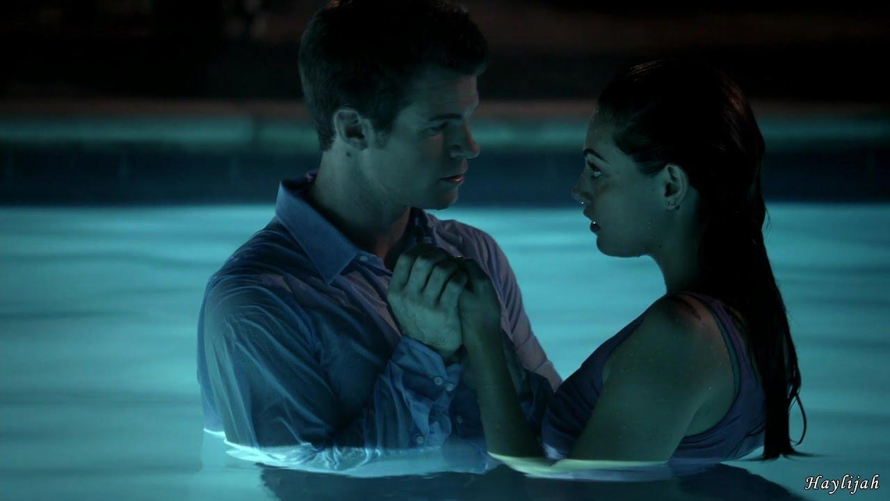 Download The Originals 1x06 Davina unlinks hayley. Elijah holds hayley in the pool