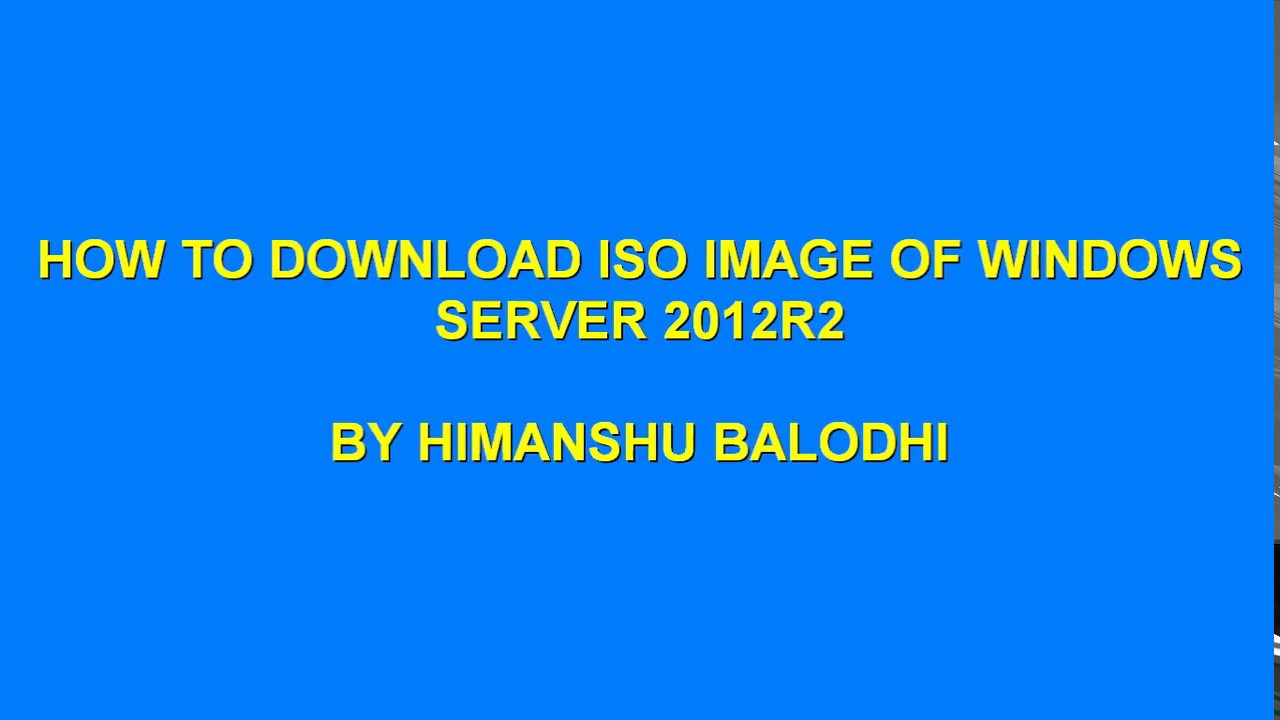 windows server 2012 r2 iso download full version
