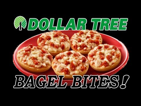 Dollar Tree Bagel Bites! - WHAT ARE WE EATING?? - The Wolfe Pit