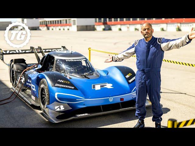 FASTER THAN AN F1 CAR: Volkswagen I.D. R vs Chris Harris (EXTENDED) | Top Gear: Series 28