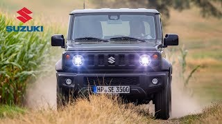 2019 Suzuki Jimny Road & Trail Driving, Interior & Exterior