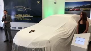 Inauguración de agencia y presentación de la Lamborghini Urus en México