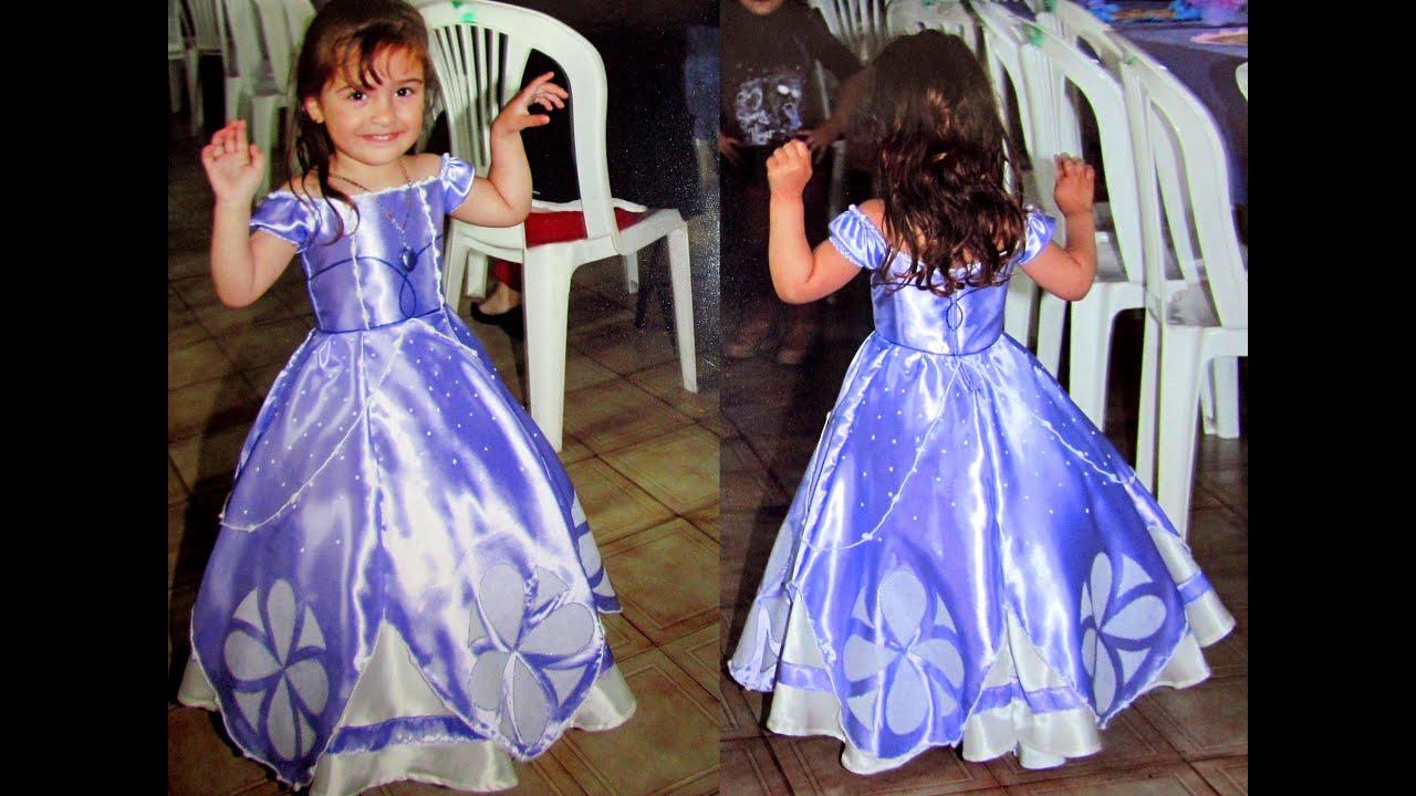 41abefe3f La Princesita Sofia - Vestido - YouTube