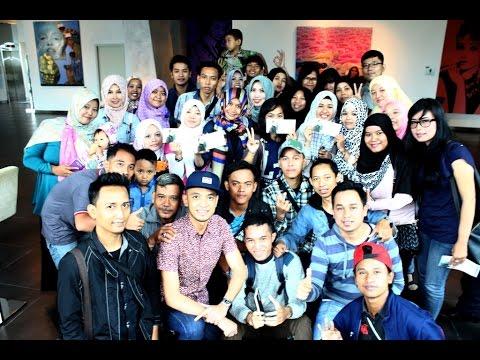 Tomok Live Acara HI Tea Lounching Single Zamani Jakarta
