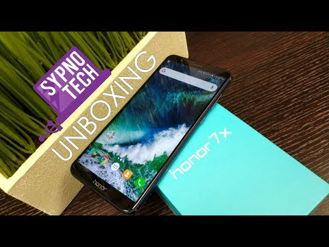 Unboxing the Honor 7X