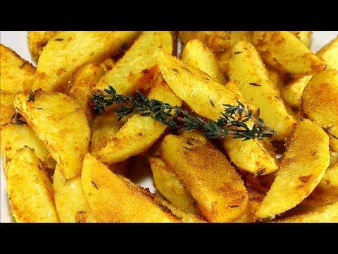 Най-бързите хрупкави картофки