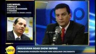 27/05/2013 RPP NOTICIAS - ENLACE TELEFÓNICO CON EL MINISTRO DE ECONOMÍA LUIS MIGUEL CASTILLA