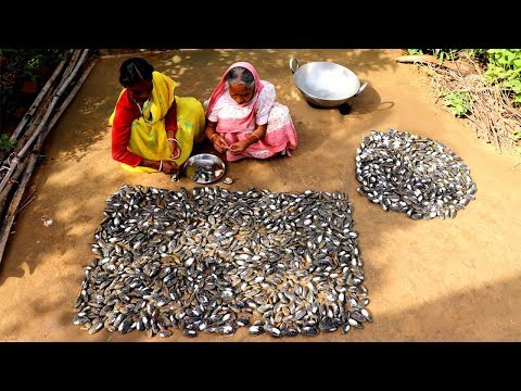 Traditional Oyster Recipe by our Grandmother | Village Style Cooking Spicy Oyster