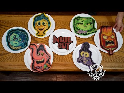 Pixar Pancake Art