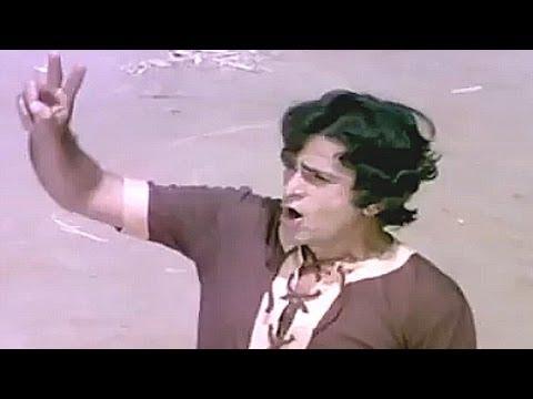 Shashi Kapoor, Danny training Villagers to fight - Chor Machaye Shor, Action Scene