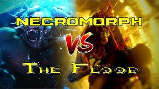 Dead Space Necromorphs Take on The Flood from Halo | Who would emerge the victor?