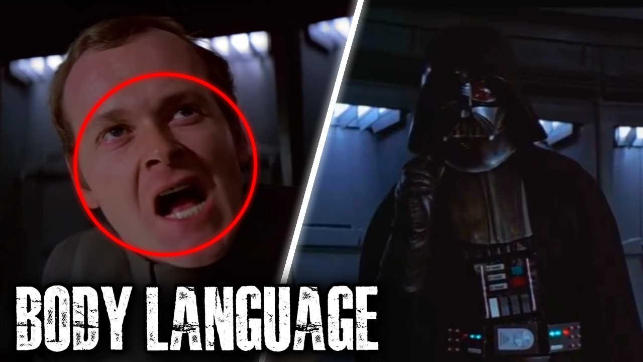 """Body Language Analyst Reacts To Star Wars """"I Find Your Lack Of Faith Disturbing"""" Scene"""