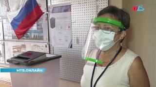 Участок для голосования по поправкам протестировали в Волгограде