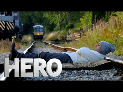 Tied To A Train Track - Derren Brown: Hero at 30,000 Feet