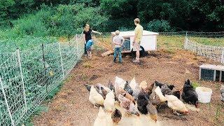 Suburban Family (of 10) takes over the Farm + VLOG
