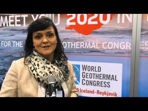 Interview with Rósbjörg Jónsdóttir of Iceland Geothermal at WGC2015