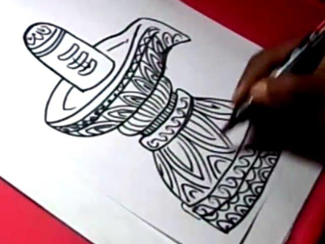 How To Draw Shiva Lingam Mahadeva Drawing Step By Step Youtube