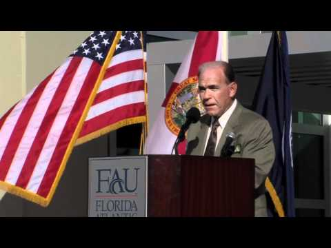FAU Engineering Green Building Ribbon Cutting Ceremony