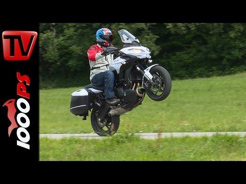 Kawasaki Versys 650 Test-Touring Pakete 2015