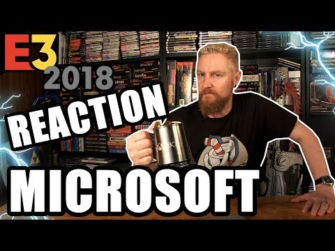MICROSOFT 2018 CONFERENCE REACTION - Happy Console Gamer