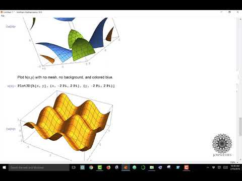 How To Graph 3D Functions In Mathematica