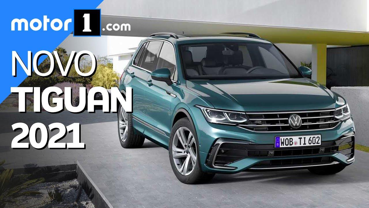 Volkswagen Tiguan 2021 traz visual mais refinado, novo acabamento e tecnologia
