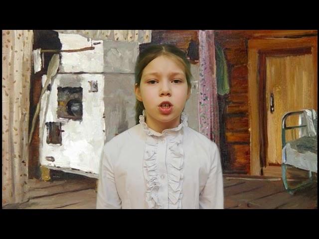 Изображение предпросмотра прочтения – ЮлияПотапова читает произведение «Бабушкины сказки» С.А.Есенина
