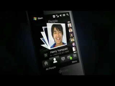 HTC Touch Diamond P3700 Unlocked GSM Phone AD Commercial