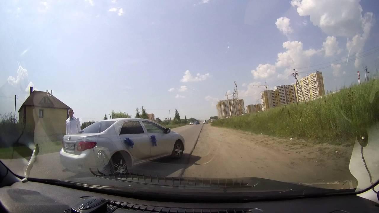 Тамбов ДТП 16.07.2016. Опасное вождение.