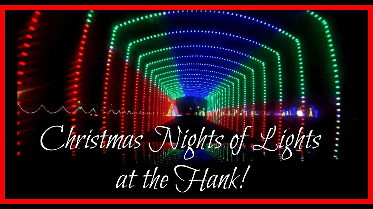 Dancing Christmas Nights of Lights at the Hank (11.23.15) - YouTube
