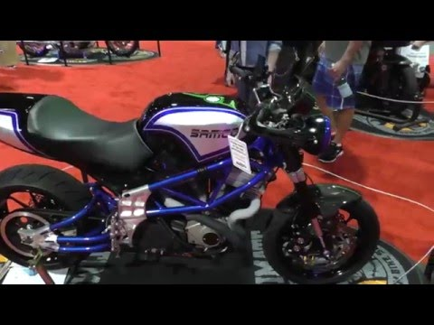 Maurice Brisebois of SAMCO builds an American Bike (Video Interview)