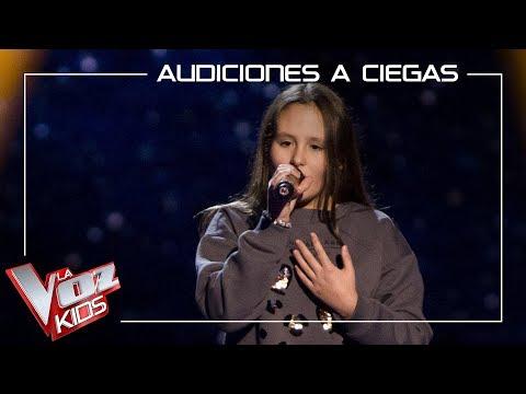 Laura Bautista Canta 'I Have Nothing' | Audiciones A Ciegas | La Voz Kids Antena 3 2019
