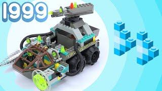 Fast Forward building the Chrome Crusher - Rock Raiders 5/5 [Lego 4950]