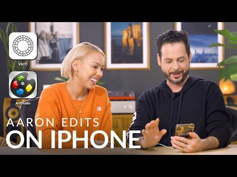 Aaron Nace Learns to Edit on an iPhone! ft. Elise Swopes