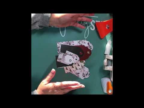 Demo New Paper Studio Tag Punch & WRMK Tab Punch Board || Turtle Creations 4U