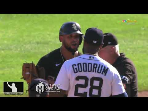 Ejection 186 – After Jose Abreu's HBP from Alex Lange, L Barrett Ejects M Cairo Before Benches Clear